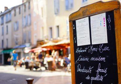 Menu de restaurant en ligne